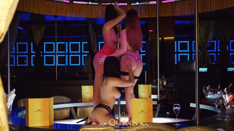 Tabledance, Striptease Tänzerin, Illusion, Fantasie