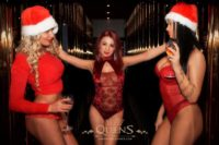 Weihnachten und Sylvester Party im Queens Strip club
