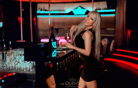 Heiße Stripperin in Queens Nightclub