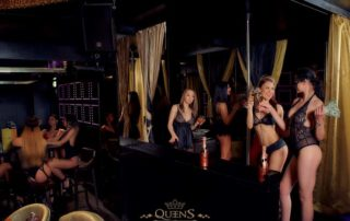Stage for erotic shows, Vip Lounges and Private Rooms: Interior in Strip Club
