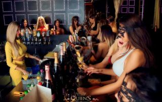 The bar, Vip Lounges and Private Rooms: Interior in Strip Club