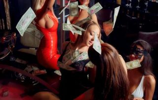 House Party in Queens Strip club